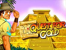 Автомат Quest For Gold от разработчиков Новоматик