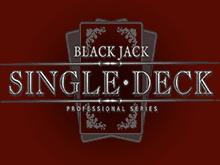 Играйте онлайн в автомат Single Deck Blackjack Professional Series